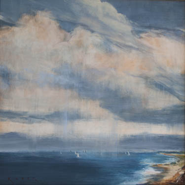 Scenes from california s harbors and pacific coast by artist april